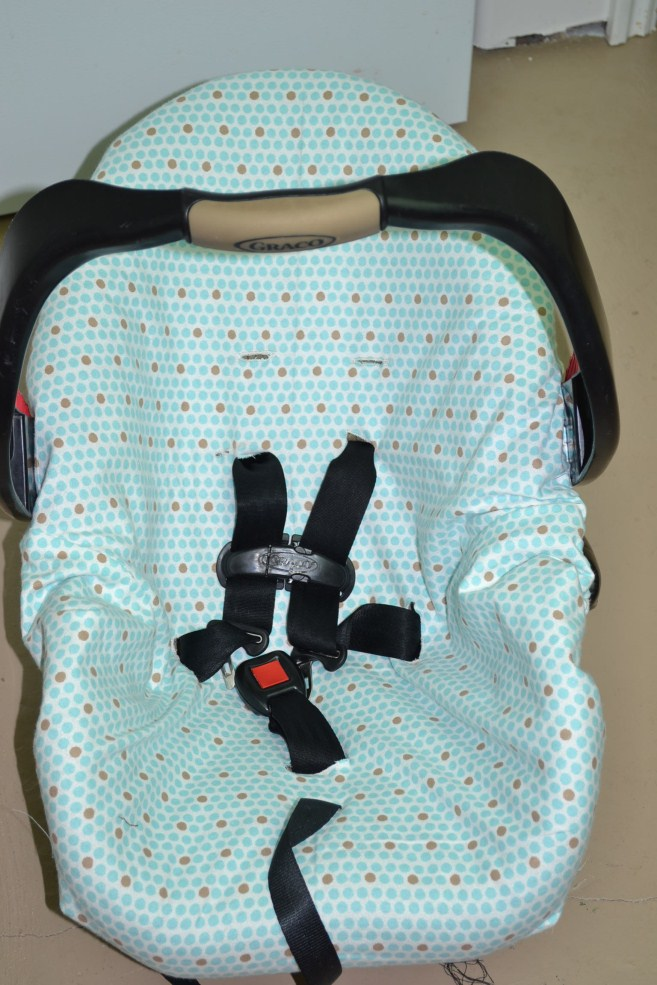 FREE PATTERN Car Seat Cover Pattern