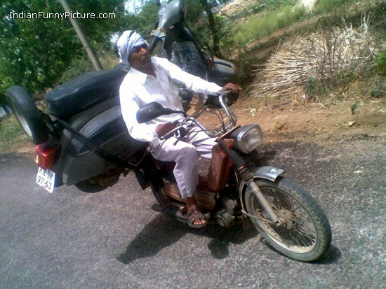 Indian Funny Scooter