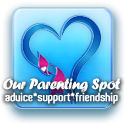 Click on the logo to read my featured article on Our Parenting Spot