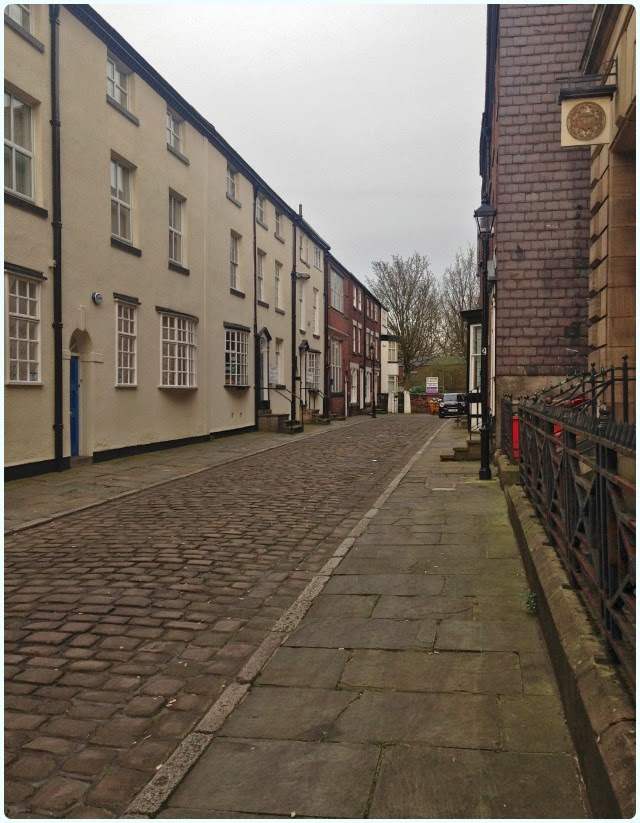 Cobbled Wood Street, Bolton