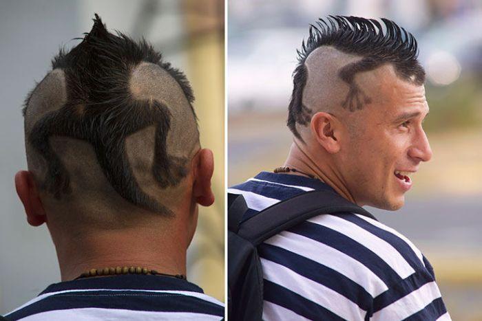 Avatar Arrow Haircut