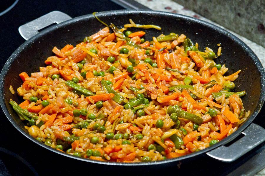 Recetas de arroz con verduras todarecetaes tattoo design - Arroz con pescado y verduras ...