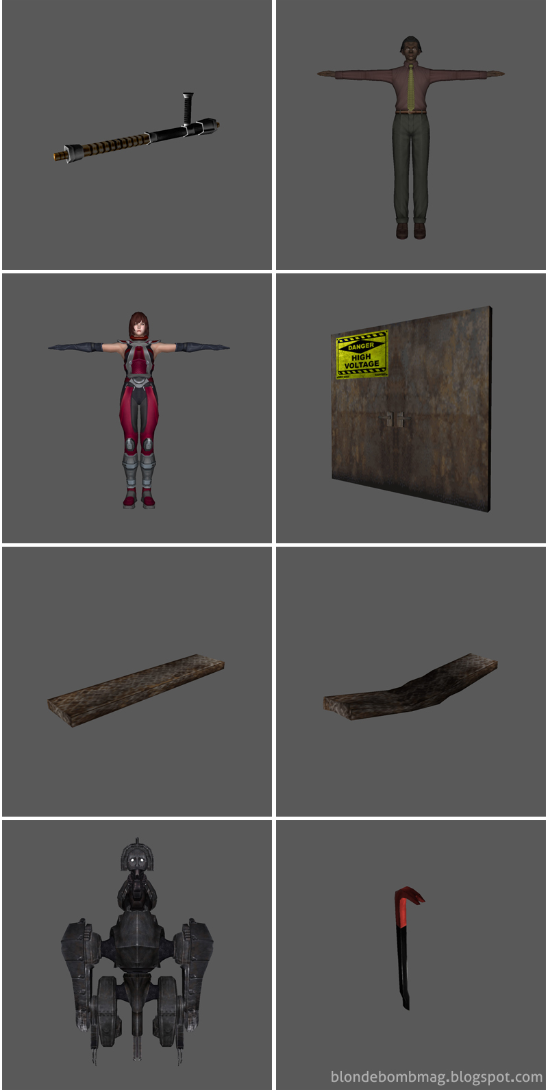 Death by Degrees 3D Model Compilation