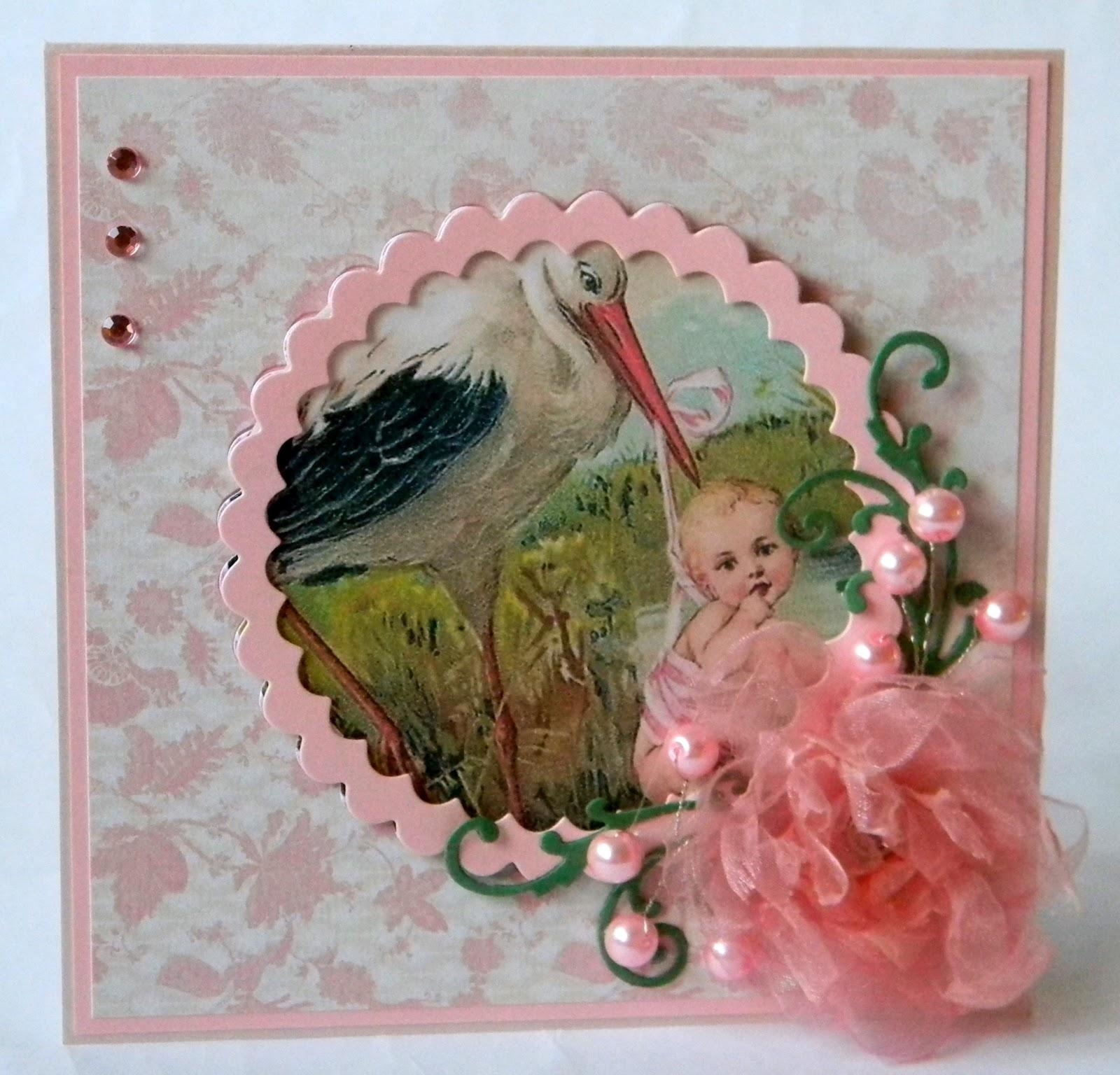 Открытки и картинки с новорожденной, с рождением ребенка 56