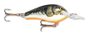 Mồi cá giả có màu sắc đẹp và trong giống như bị thương Fat Rat