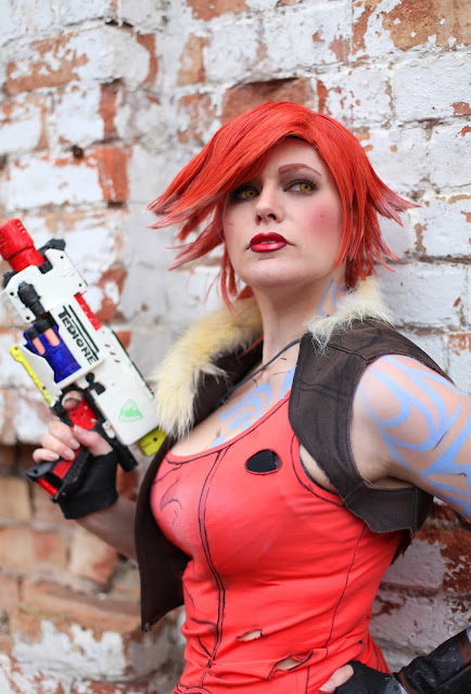 chrix design lilith from borderlands 2 cosplay