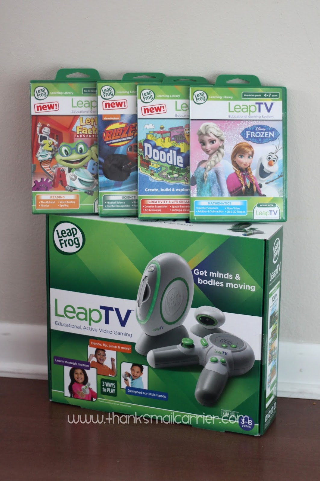 LeapTV and games