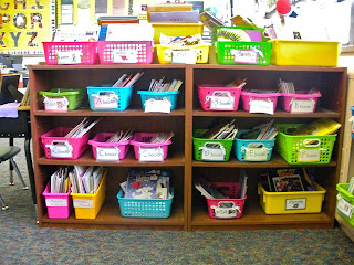 Love how this teacher organized her classroom library!