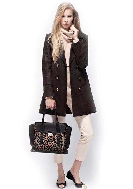 Prune Moda invierno 2013: Abrigos, zapatos, carteras.
