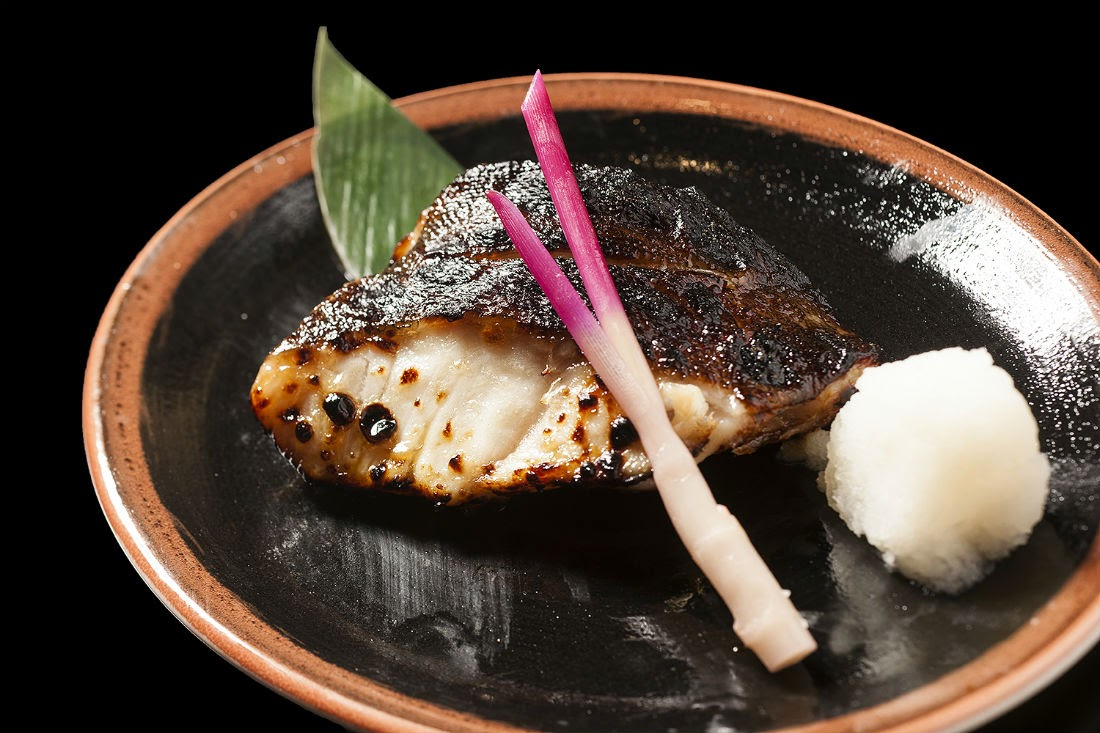 AroundTheUAE.com was treated to a delicious selection from the menu, including the black cod fillet