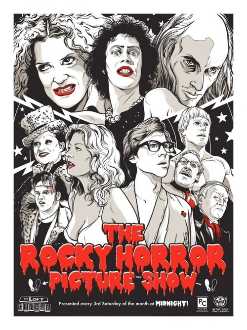 09-Rocky-Horror-Picture-Show-Film-and-TV-Series-Posters-US-Artist-Joshua-Budich-www-designstack-co