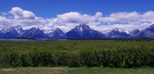 Grand Teton National Skyline