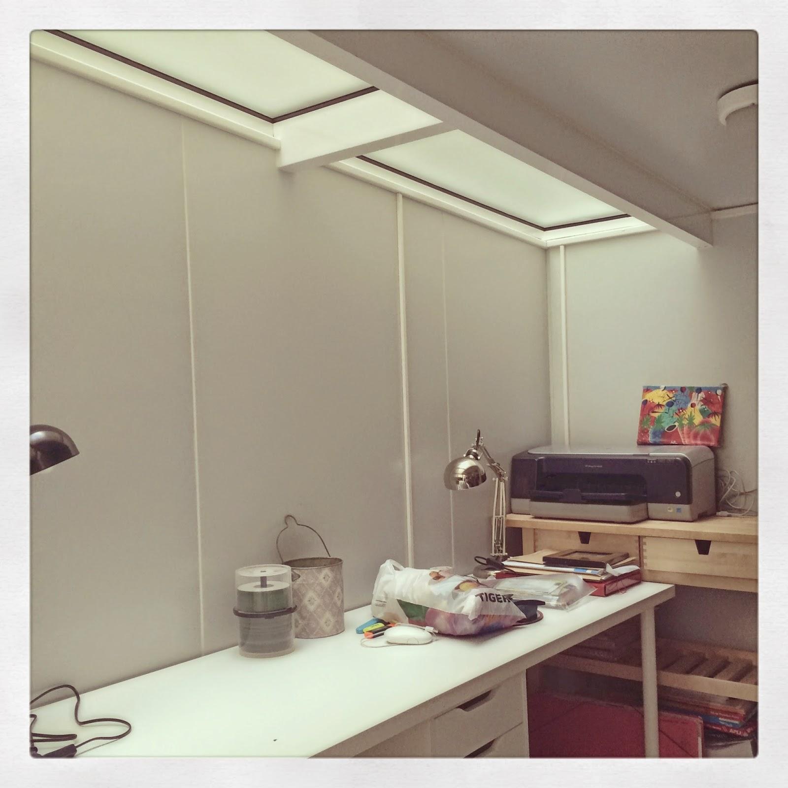 proceso de montaje espacio de trabajo