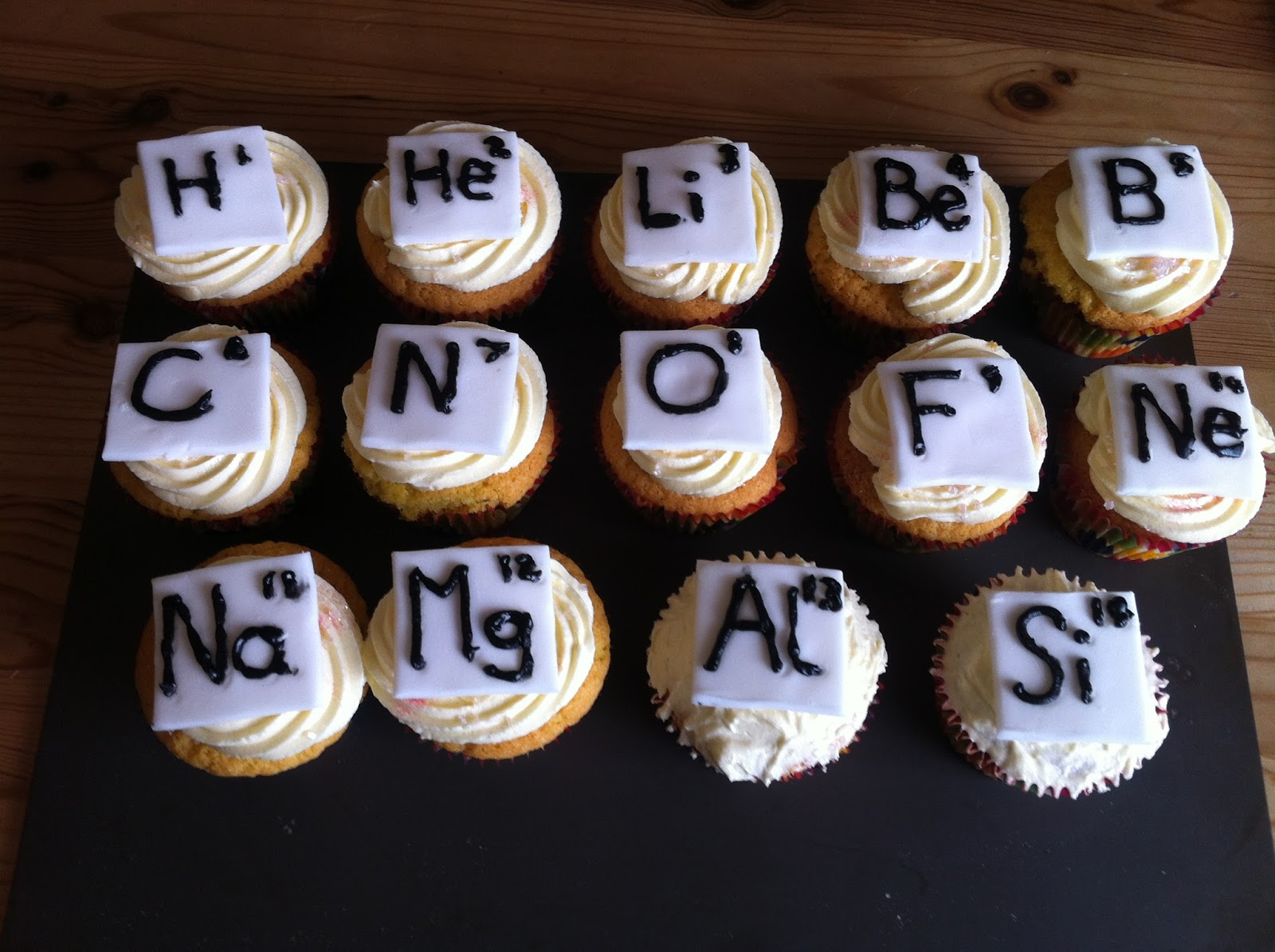 Want it got it made it let them eat cake part one periodic table of elements fairy cakes gamestrikefo Choice Image