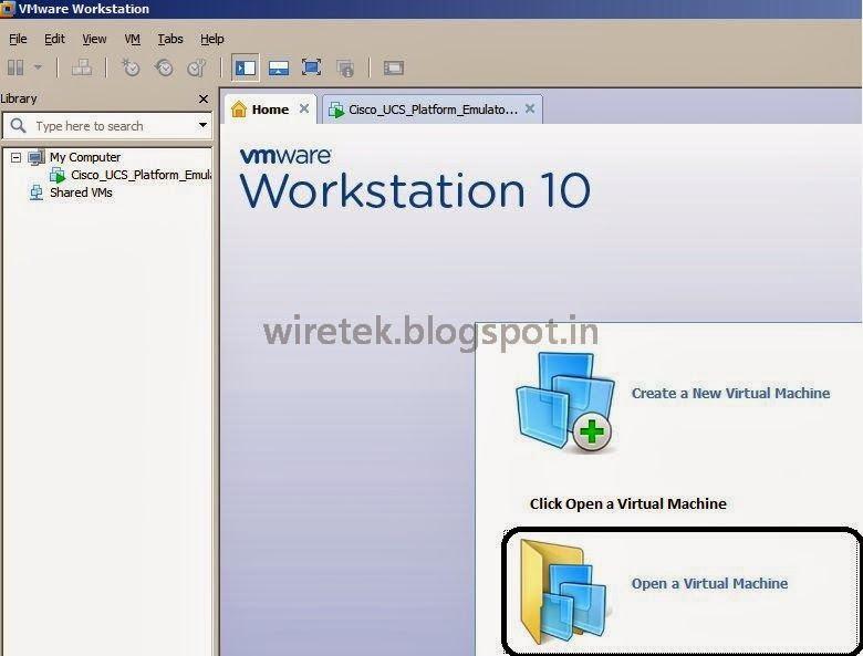 How to Deploy OVF Template on VMWare Workstation 10