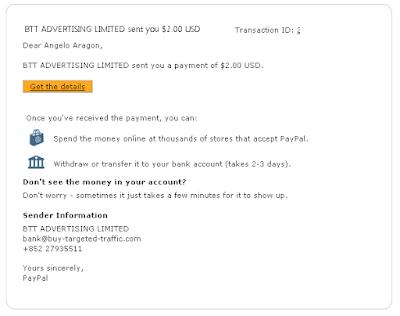 bukti pembayaran shared2earn, shared2earn payment proof