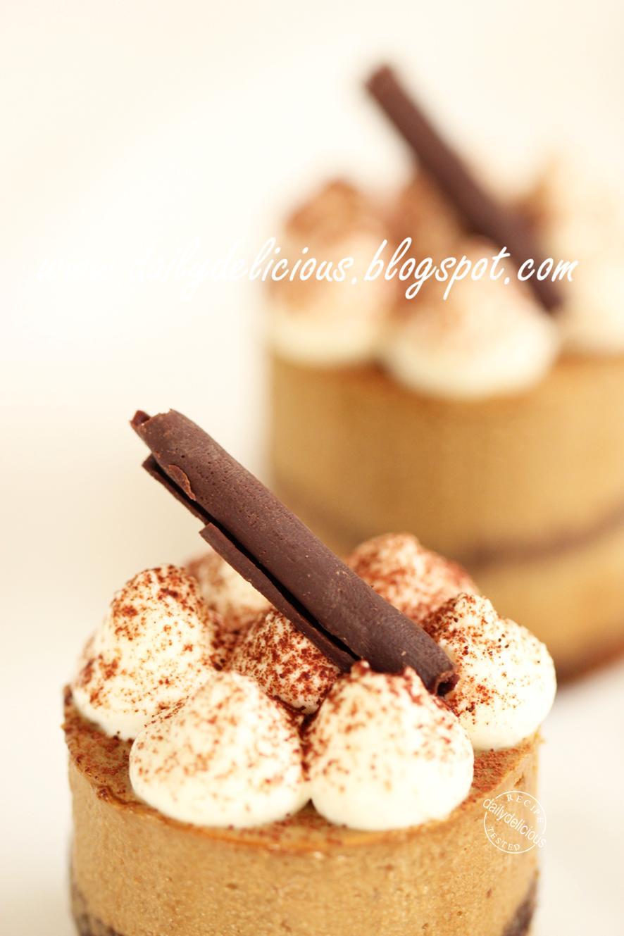 Cake With Cappuccino Cream