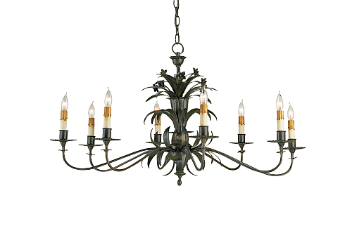 Kalco wrought iron lighting chandelier in Home Lighting - Compare