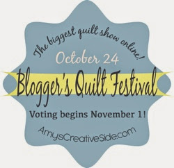 Blogger's Quilt Festival Fall 2014 hosted by Amy's Creative Side, button