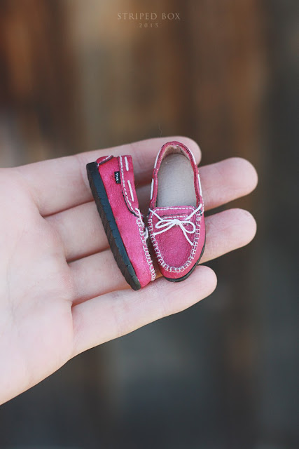 1/6 розовая обувь для куклы