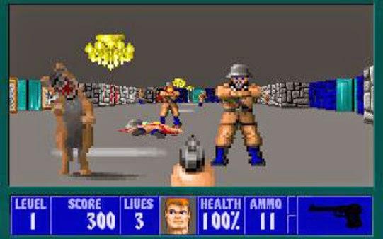 Videojuegos pioneros Wolfenstein%2B3d%2B1992