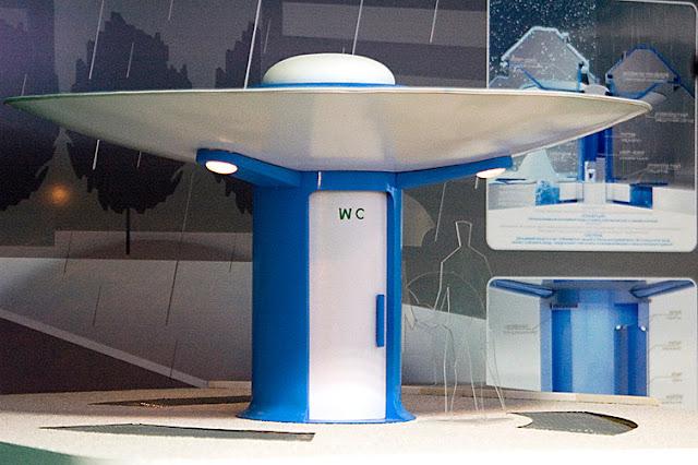 Public Toilet, design