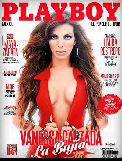 Vanessa Galzada - Playboy México - Novembro 2013