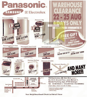 TH Electronics Warehouse Clearance 2013