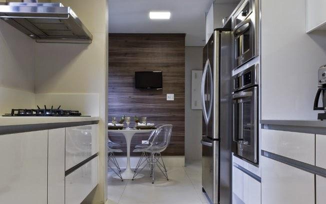 Cozinha Corredor – Veja Lindos Modelos Para Apartamentos + Dicas De ~ Decoracao Cozinha Corredor