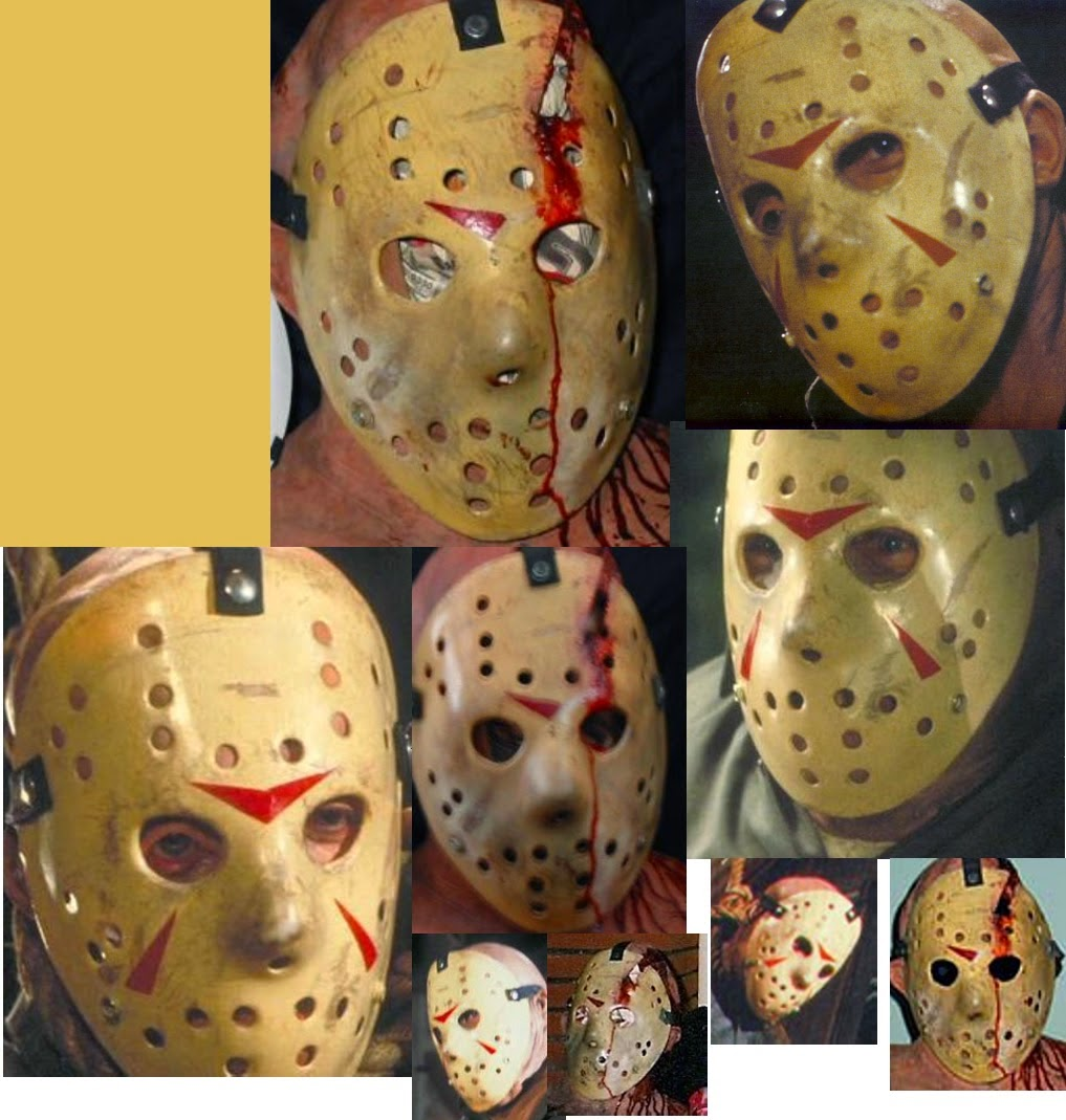 An Interesting Look At The Friday The 13th Part 3 Hockey Mask