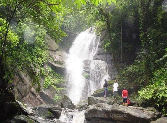 Waterfalls In The Philippines Alitap Waterfalls In Quezon