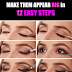 How To Give Smoky Look To Your Eyes And Make Them Appear Big!!