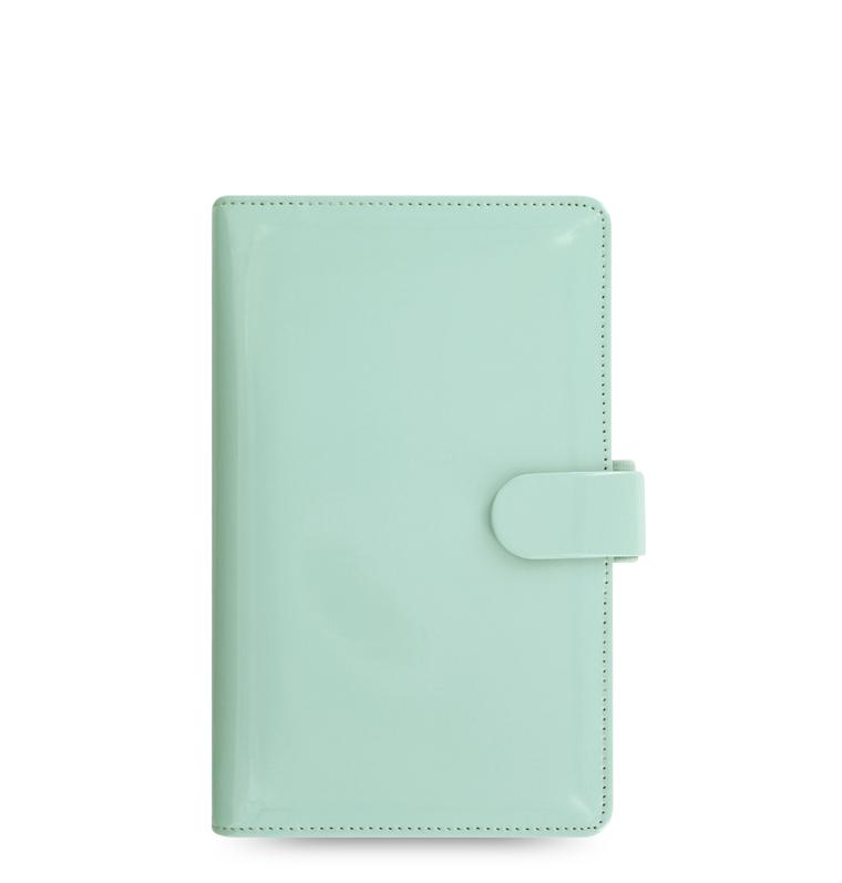 Personal Patent Compact Filofax in Duckegg Blue