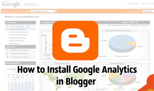 How to Sign Up for Google Analytics and Install Codes on Blog