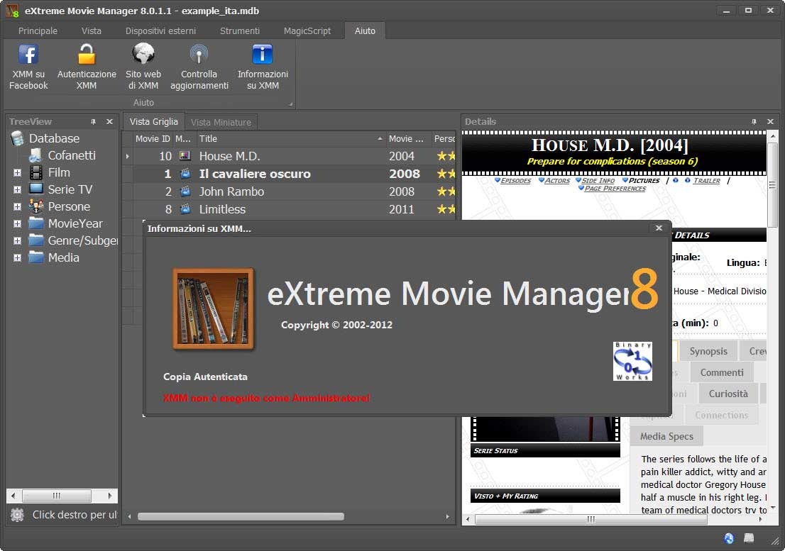 Extreme Movie Manager 8.3.3.0