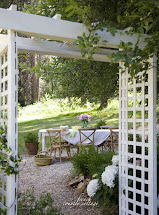 Cottage Garden Arbor - French Country
