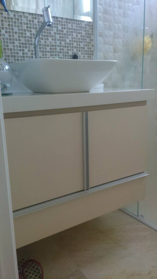 Móveis Sob Medida Gabinete de Banheiro -> Gabinete De Banheiro Sob Medida