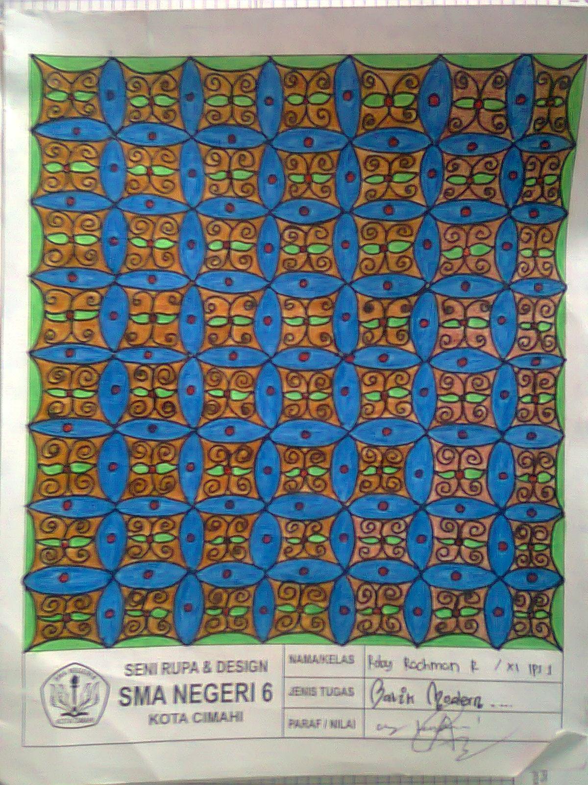 berbagi bersama doddi: Membuat Disain Batik Modern