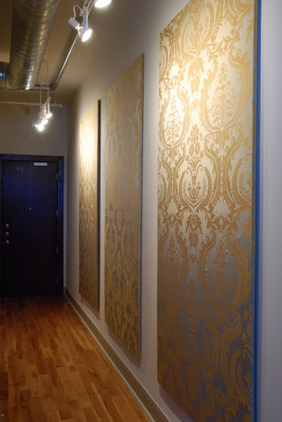 Fabric Wall Covering : Temporary wall coverings great ideas for when you can t