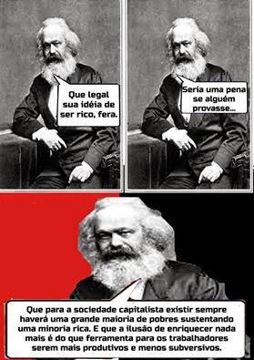O enriquecimento, para os trabalhadores, sob o capitalismo.