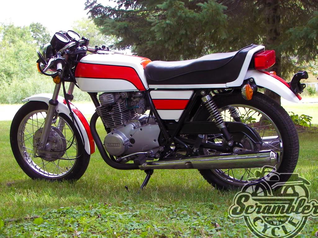 custom yamaha xs360 | scrambler cycle
