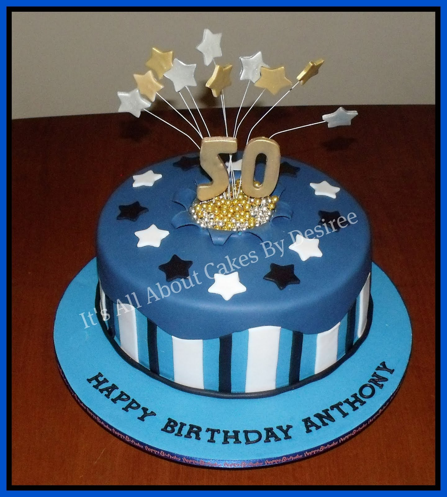 Cake Decorations For Men S Birthdays : 50th birthday cakes on Pinterest 50th Birthday Cakes ...