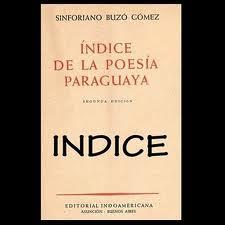 Ïndice de la poesía paraguaya