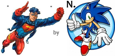 N.Sonic Superboy Sonic the Hedgehog
