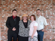 Easter 2011 Brother, Mom, Me, And Hubby.
