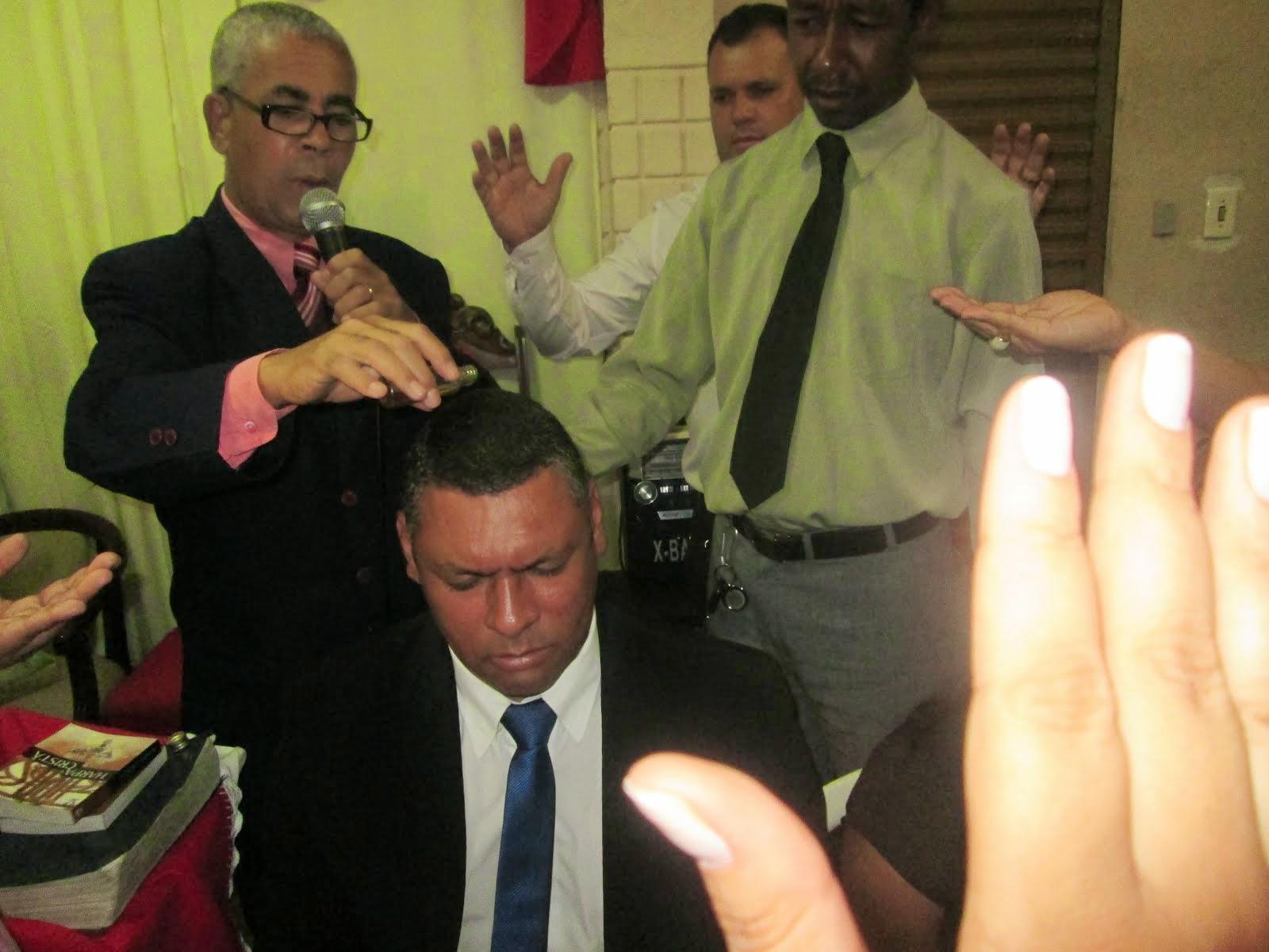 UNÇÃO PARA O MINISTÉRIO PASTORAL