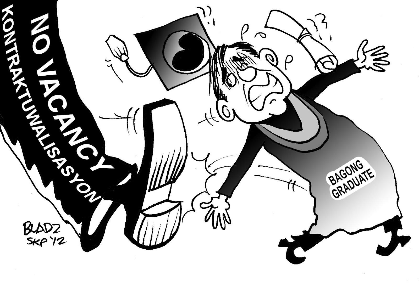 kakulangan ng trabaho ng mga pilipino Ayon sa tanong na ano ang mga dahilan ng kawalan ng trabaho ng mga  ng  pagbibigay ng mga ebidensya tungkol sa kakulangan ng mga trabaho at sa mga .
