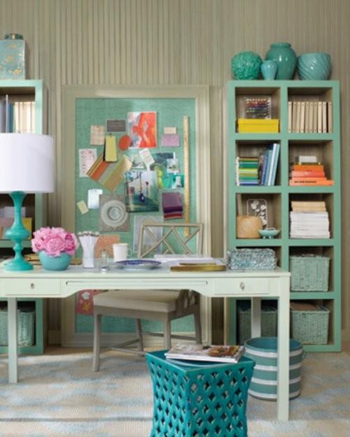Amando casando e decorando inspira o home office craft - Martha stewart decoracion ...