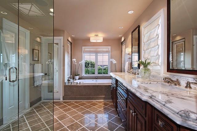 desain kamar mandi model victorian