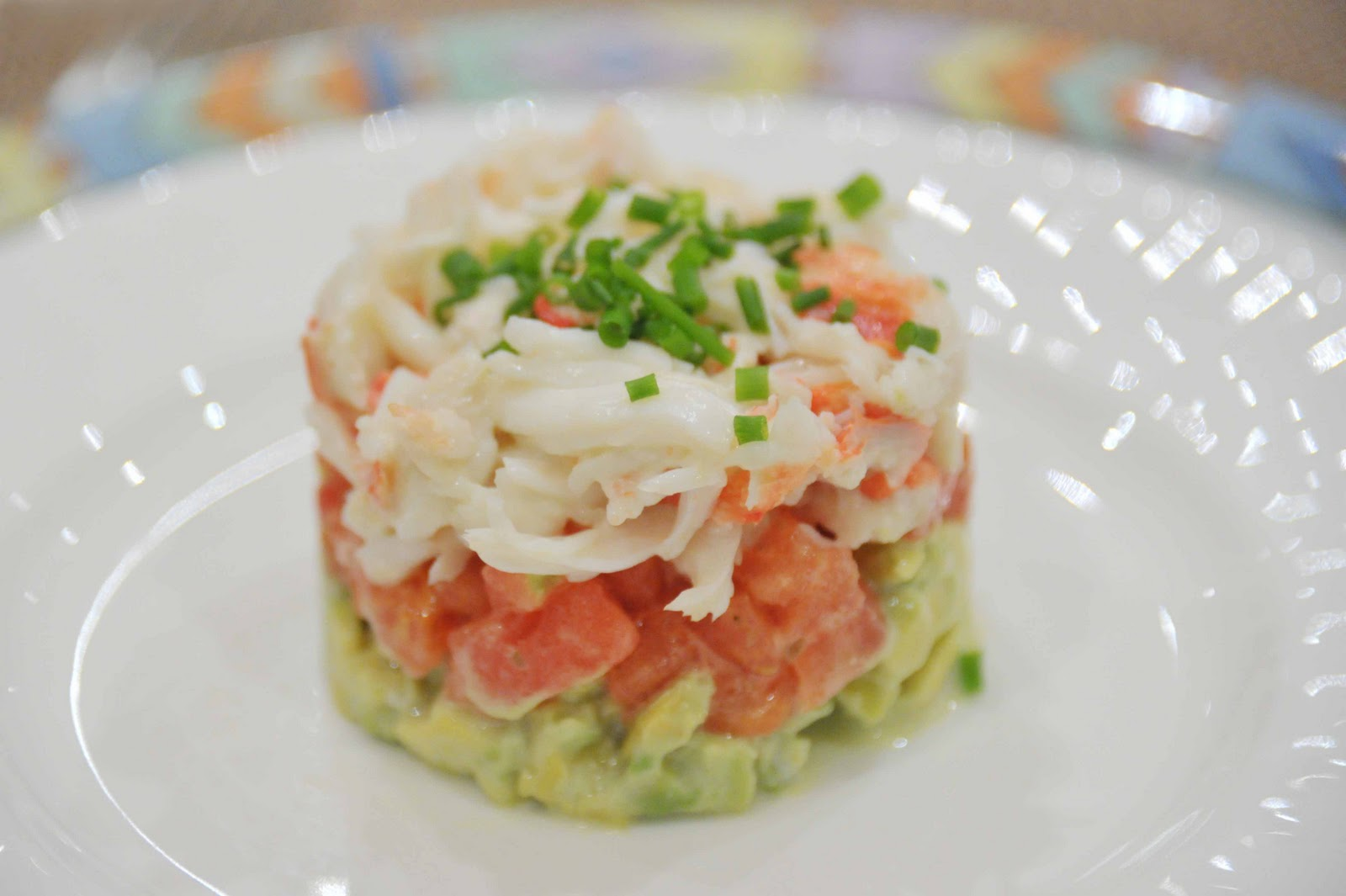Салат с крабами классический пошаговый
